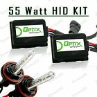 55W HID Fog Lights Xenon Light Slim Kit Plug N Play Bulb Size - H11 (B)