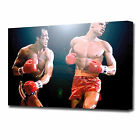 0367 LARGE ROCKY DRAGO FIGHT CANVAS PRINT