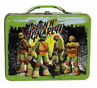 Lunch Box - Teenage Mutant Ninja Turtles - Metal Tin Case - Storage Box - Retro