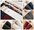 over knees Cable Knit + Lace thicken stockings / thigh-highs / socks - 5 colors