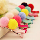 2/5/10 Pcs Cute Balls Hair Clips for Girls Kids Hair Accessories Random G20