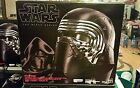 New Star Wars The Force Awakens Black Series Kylo Ren Voice Changer Helmet
