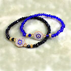 Stretching Crystal Bead Amulet  Evil Eye Bracelet in a Gift Box - 2 Colours