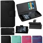 Wallet Flip Case for HTC One A9 Phone - QUALITY Leather Like Kickstand Folio USA