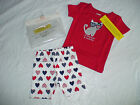 NWT GYMBOREE ALL AMERICAN & AWESOME 2 PIECE SHORTS GYMMIES PAJAMAS CAT 4TH JULY