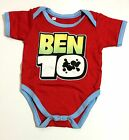 NEW Baby BEN 10 TEN ACTION SUPERHERO Costume Onesies Jumper Sizes 0-18 m.o.
