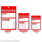 SALE CARDS REDUCED WAS NOW TAGGING GUN CARD PRICING GUN HANGER SWING TICKETS