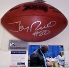 JERRY RICE SIGNED OFFICIAL SUPER BOWL 23 XXIII LEATHER GAME FOOTBALL PSA DNA