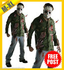 RUBIES Mens Costume Fancy Dress Licensed Friday 13th Jason Voorhees 881571