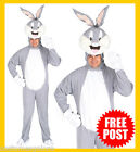 RD MENS Costume Licensed Looney Tunes Bugs Bunny Animal Suit 16395