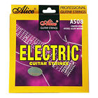 ELECTRIC GUITAR STRINGS nickel wound sets 9-42 10-46 LIGHT or MEDIUM GAUGE