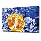 LARGE ORANGE CANVAS PRINT 2143