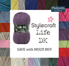 Stylecraft LIFE DK Double Knit Knitting Yarn **BUY 10 OR MORE & SAVE 5%**