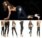 Fashion Womens Ladies Sexy Skinny Jeans Trausers Jeggings sizes 6 8 10 12 14