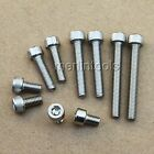 Select size M5 - M6 L:6 - 150mm Stainless Steel Allen Hex Socket Head Cap Screws