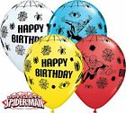Qualatex Disney 27.9cm Ballons En Latex Spider-Man Joyeux Anniversaire