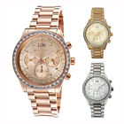 Michael Kors Brinkley Crystal Bezel Stainless Steel Chronograph Women's Watch