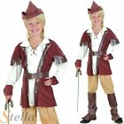 Boys Deluxe Hunter Robin Hood Book Week Fancy Dress Costume Child Outfit
