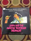 JOSEPH & THE AMAZING TECHNICOLOR DREAMCOAT GL1768 SOUTH AFRICAN IMPORT TIM RICE