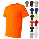 JERZEES Mens Tees Shirts Heavyweight Blend 50/50 T-Shirt with a Pocket image
