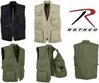 Multi-Pocket Travel  Cargo Tactical Plainclothes Concealed Carry Vest 8567 New!