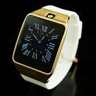 Gold Smart Watch für Handy Sport Armbanduhr Armband Android Bluetooth
