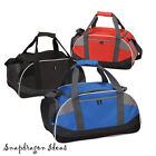 Gym Game Sports Athletic Duffle with Mesh Pocket for Water Bottle - P9052