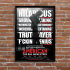 American The Bill Hicks Story Movie Poster High Quality Poster Print Art A1, A2+
