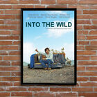 Into The Wild Hitch Hike Book Movie Poster High Quality Poster Print Art A1, A2+