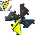Bike BicycleTriangle Frame Bag Cycling Front Top Tube Frame Saddle Pouch Pannier