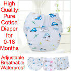 New Born Baby Pure Cotton Diaper Pants Waterproof Breathable Cloth Nappy ONSALE