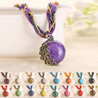 HIGA New Bohemian Vintage Women Pendant Rhinestone Necklace Chain Jewelry Gift