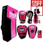 PINK Morgan Platinum Training Boxing Pack Kick Bag Gloves Pads Shield kicking