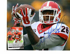 Malcolm Mitchell signed autographed 8x10 football photo & card Georgia Bulldogs