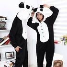 Unisex Adult Kid Pajamas Kigurumi Cosplay Animal Onesie Sleepwear Shoes Panda