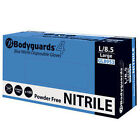 Bodyguards 4 Blue Nitrile Powder Free Disposable Gloves GL895 -  1000 Gloves