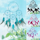Handmade Dream Catcher with Feather Beads Wall Hanging Decoration Car Ornament