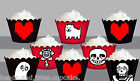 Undertale Under Tale Birthday party Wraps Cupcake Cases Cake Wrappers Cup Cake