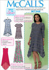 McCalls 7348 Learn to Sew Pullover Dress XS - Plus Size Sewing Pattern M7348