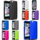 Colorful Rubberized Hard Cover Case+Colorful Protector For iPhone 6 Plus 5.5""