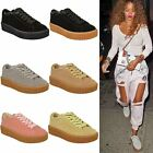 Ladies Womens Creeper Trainers Sneakers Fenty Celeb Platform Fashion Shoes Size