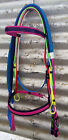 PVC Horse Bridle - Mac Tack - BEST Quality Multi Coloured