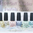 OPI - Soft Shades Pastels Collection - Pink Blue Mint Creme Nail Polish 15ml