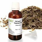 DILL SEED ESSENTIAL OIL - UNDILUTED - 100% PURE NATURAL OIL 12 ML TO 125 ML