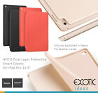 "iPad Pro 9.7"" HOCO Dual Layer Nano PU Leather Smart Cover + Silicone Backshell"