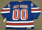 "NEW YORK RANGERS 1990's CCM Vintage Away ""Customized"" NHL Hockey Jersey"