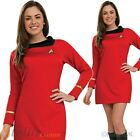Ladies Deluxe Uhura Original Star Trek Fancy Dress Costume Adult Outfit on eBay