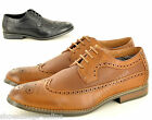 New Mens Casual Formal Lace Up Designer Brogues Fashion Shoes In UK Sizes 6-11