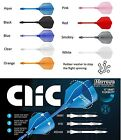 Harrows CLIC System - Dart Flights and Stems - Choose from 9 Colours and 3 Sizes