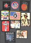 BAND  PATCHES VARIOUS DESIGNS: CLASH,CHE,CLAWFINGER, DEAD KENNEDYS,PRINCE,